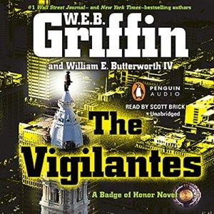 The Vigilantes audiobook cover art