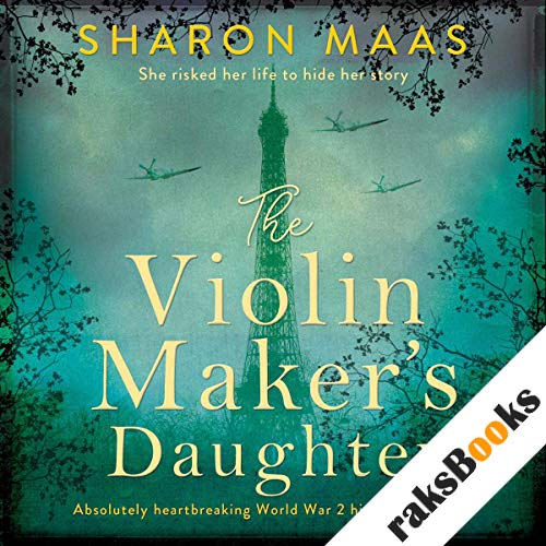 The Violin Maker's Daughter audiobook cover art