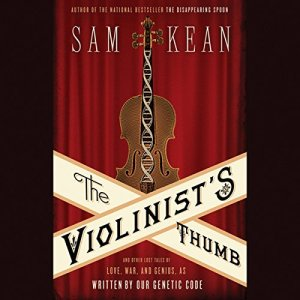 The Violinist's Thumb audiobook cover art