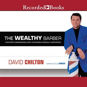 The Wealthy Barber audiobook cover art
