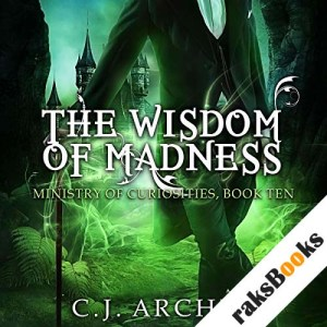 The Wisdom of Madness audiobook cover art