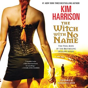The Witch with No Name audiobook cover art