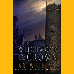 The Witchwood Crown audiobook cover art