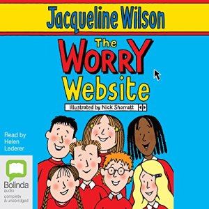The Worry Website audiobook cover art