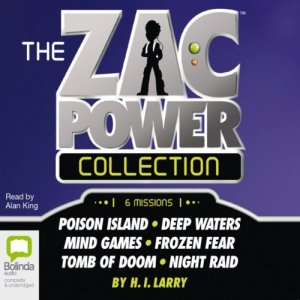 The Zac Power Collection audiobook cover art