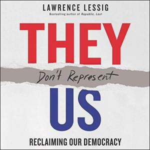 They Don't Represent Us audiobook cover art