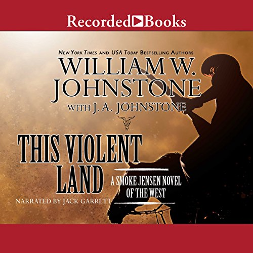 This Violent Land audiobook cover art