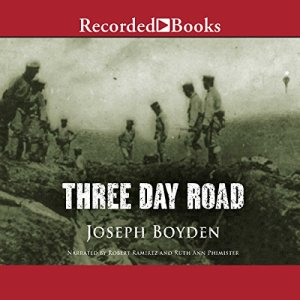 Three Day Road audiobook cover art