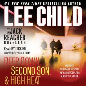 Three Jack Reacher Novellas (with Bonus Jack Reacher's Rules) audiobook cover art