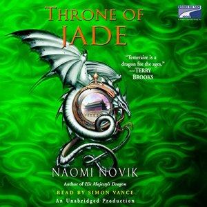 Throne of Jade audiobook cover art