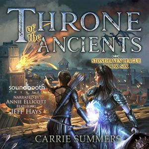 Throne of the Ancients (A LitRPG Adventure) audiobook cover art