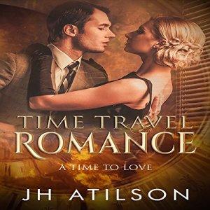 Time Travel Romance audiobook cover art