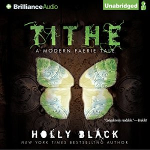 Tithe audiobook cover art