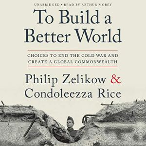To Build a Better World audiobook cover art