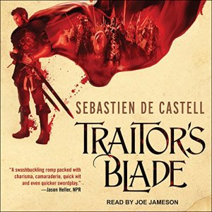 Traitor's Blade audiobook cover art