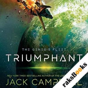 Triumphant audiobook cover art