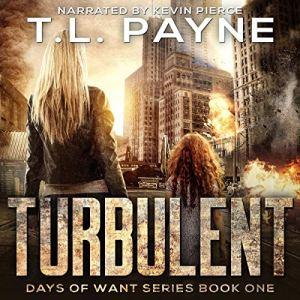 Turbulent audiobook cover art