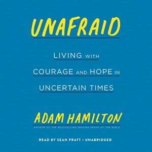 Unafraid audiobook cover art
