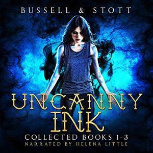 Uncanny Ink: Books 1-3 audiobook cover art