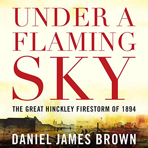 Under a Flaming Sky audiobook cover art