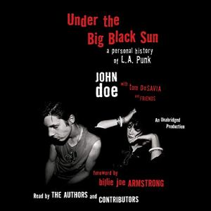 Under the Big Black Sun audiobook cover art