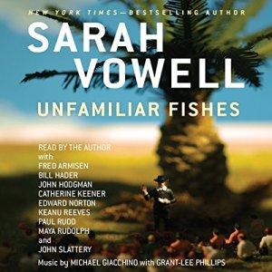 Unfamiliar Fishes audiobook cover art