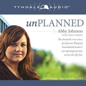 Unplanned audiobook cover art