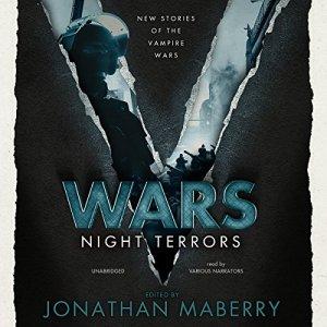V Wars: Night Terrors audiobook cover art