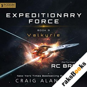 Valkyrie audiobook cover art