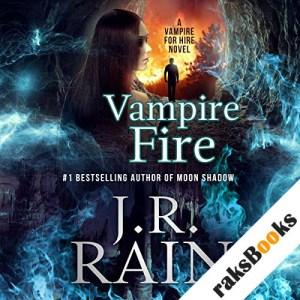 Vampire Fire audiobook cover art