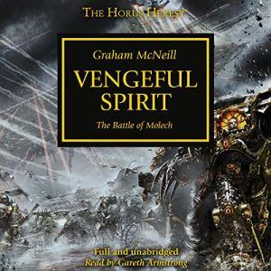 Vengeful Spirit audiobook cover art