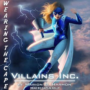 Villains Inc. audiobook cover art