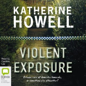 Violent Exposure audiobook cover art