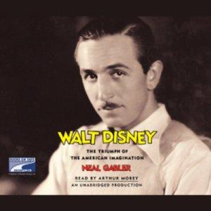 Walt Disney audiobook cover art