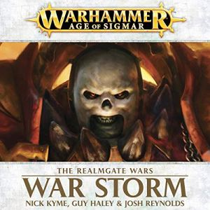 War Storm: Age of Sigmar audiobook cover art