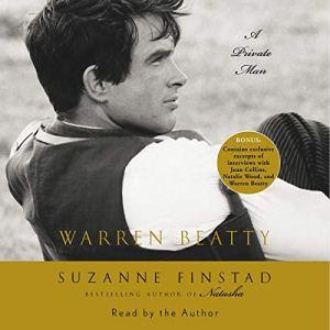 Warren Beatty audiobook cover art