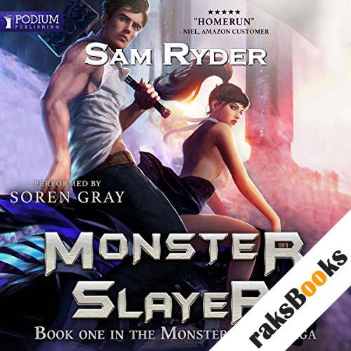 Warrior: Monster Slayer audiobook cover art
