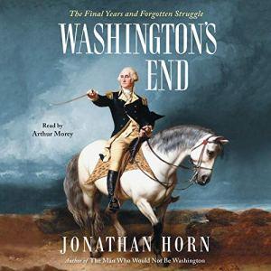 Washington's End audiobook cover art