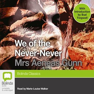We of the Never-Never audiobook cover art
