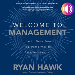 Welcome to Management audiobook cover art
