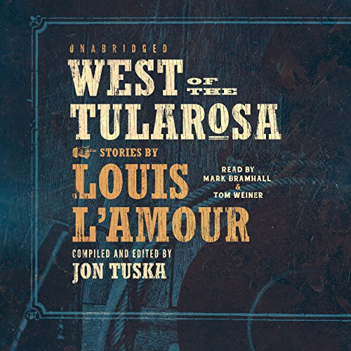 West of the Tularosa audiobook cover art