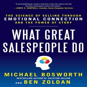 What Great Salespeople Do audiobook cover art