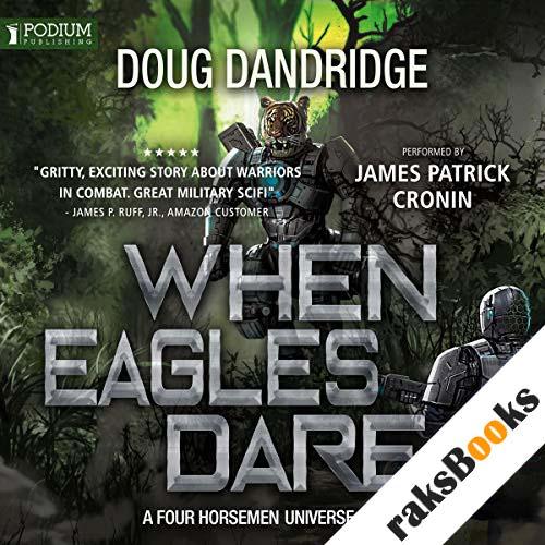 When Eagles Dare audiobook cover art