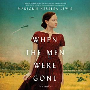 When the Men Were Gone audiobook cover art