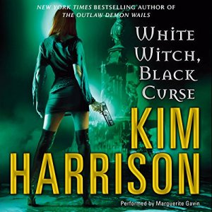 White Witch, Black Curse audiobook cover art