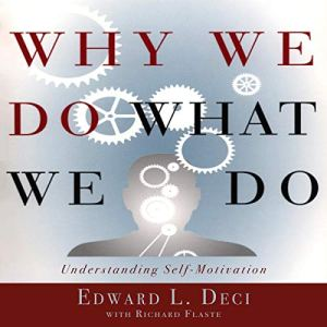 Why We Do What We Do: Understanding Self-Motivation audiobook cover art