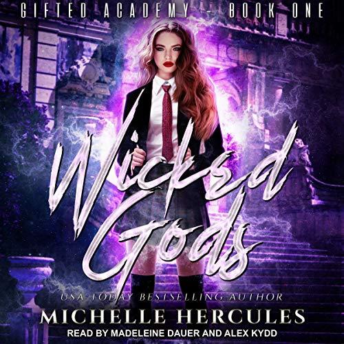 Wicked Gods audiobook cover art