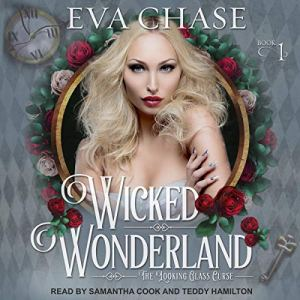 Wicked Wonderland audiobook cover art