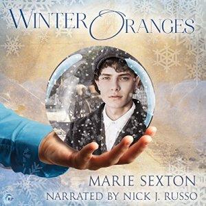 Winter Oranges audiobook cover art