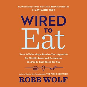 Wired to Eat audiobook cover art